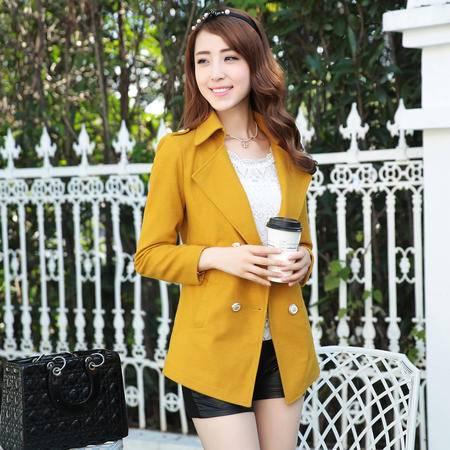 mssefn 2014韩版女装新款毛呢大衣外套 YXYG-707