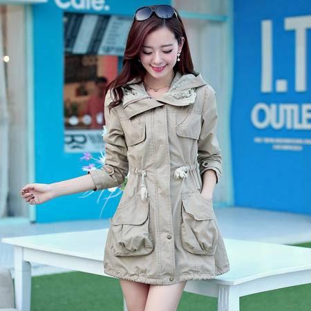 Mssefn2014秋冬季新款韩版女装时尚百搭风衣s01