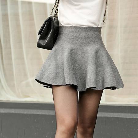 Mssefn2014秋冬季新款韩版女装白搭羊毛针织裙b04