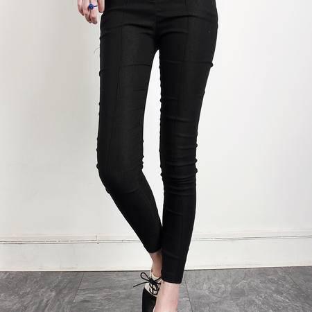 Mssefn2014秋冬装 必备百搭超美显瘦拉链铅笔裤 小脚裤 B58