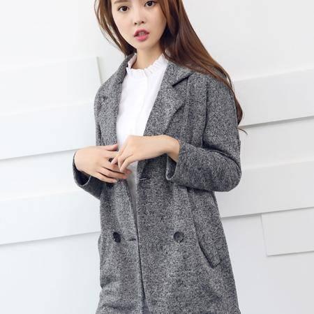 Mssefn  2014秋冬新款 女款韩版开衫针织衫风衣 8618-W55