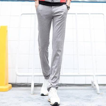 Mssefn 2014秋冬新款 灰色运动风 宽松 男士长裤803K121