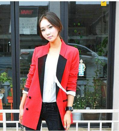 Mssefn 2014秋冬新款 女装韩版休闲小西装8407-Y010