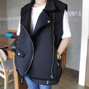 Mssefn 2014秋冬新款 韩版女装太空棉马甲 8420K76