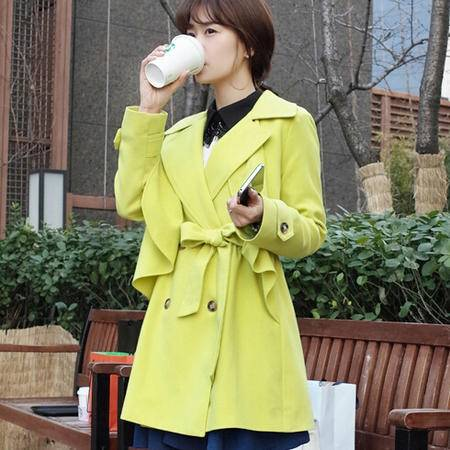 Mssefn2015春装新款韩版个性风衣女外套207