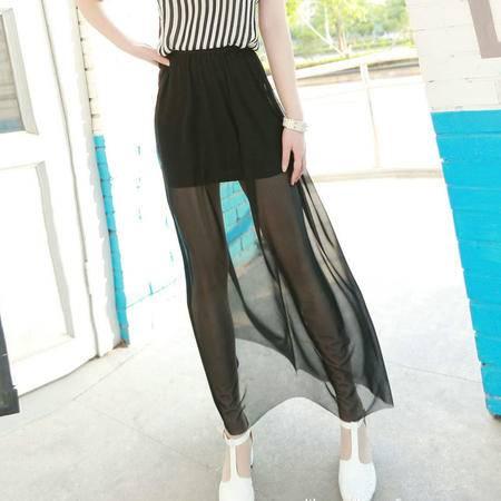 msefn2015春季新款女士韩版修身显瘦长裙