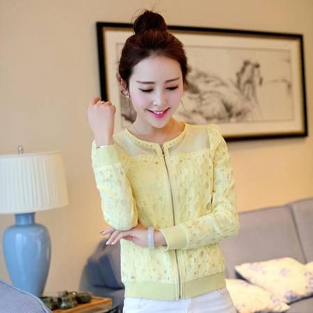 Mssefn2015春装新款时尚 气质百搭韩版修身小外套g18