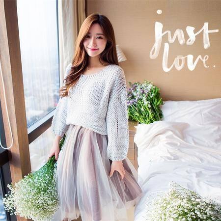 mssefn2015春季新款蕾丝多层网纱蓬蓬裙短裙 8201-Q001