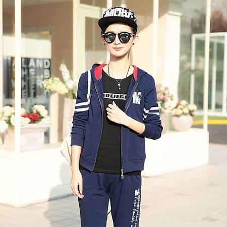 mssefn2015春季新款时尚休闲运动套装韩版女装春装A105-12562-2含T恤