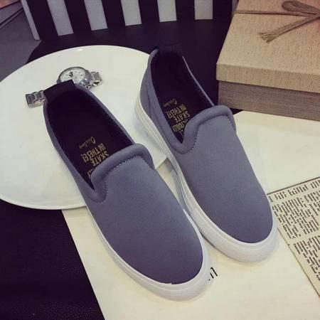 Mssefn2015新款乐福鞋单鞋简约百搭款厚底布鞋xgg899-1