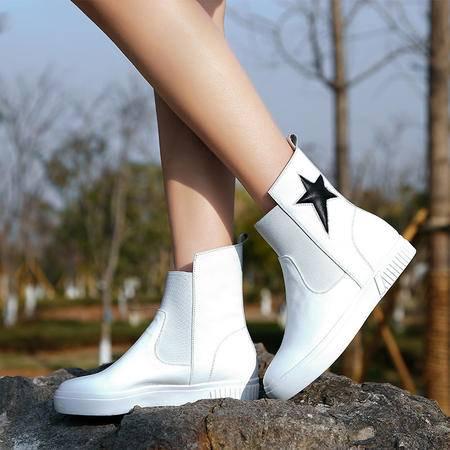 Mssefn2015春季新款 高端精品 休闲鞋 女鞋 高帮鞋WZ18-N1510-2