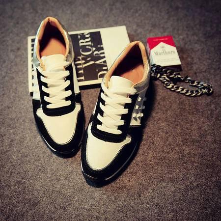 Mssefn2015春 新款复古铆钉男鞋潮鞋 男式韩版运动休闲鞋板鞋跑鞋X53