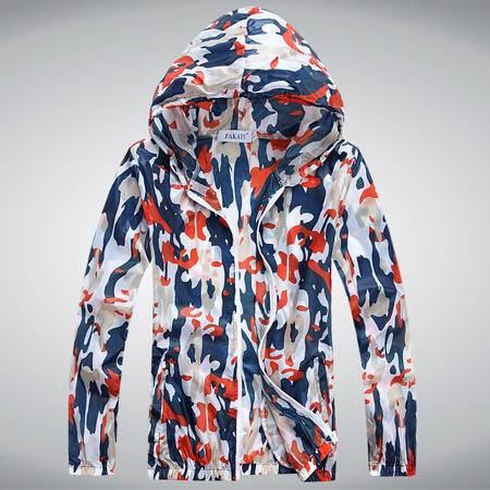 Mssefn2015爆款防晒衣长袖连帽透明正品薄款沙滩防晒服开衫228-A05