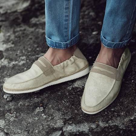 mssefn2015春夏款 韩版简约风  布面板鞋休闲鞋   763-105