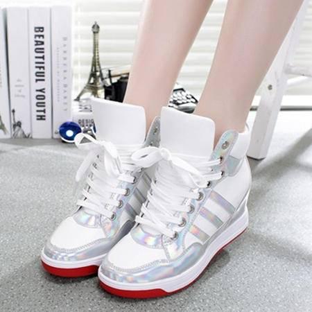Mssefn2015春季新品 内增高 英伦时尚 潮韩款 女单鞋 WZ17-803