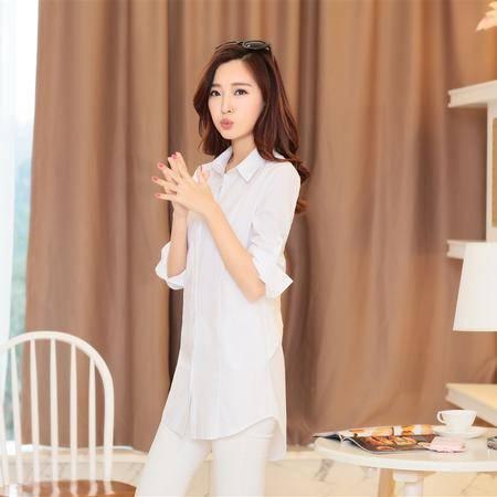 Mssefn2015春装新款韩版精品女式衬衫长袖正品衬衣女YBJ8802