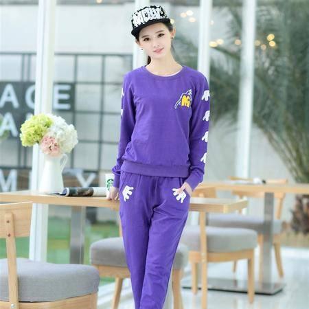 Mssefn2015春季新款韩版时尚休闲运动套装A104-1253-7