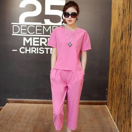 Mssefn2015新款韩版时尚棉麻两件套 套装QAFBHFS611