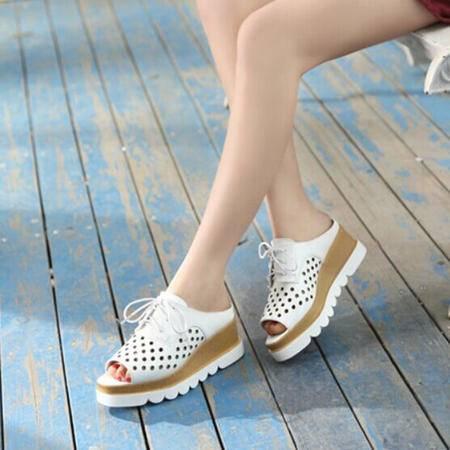 Mssefn2015夏款英伦潮流时尚女拖鞋WZ37-1