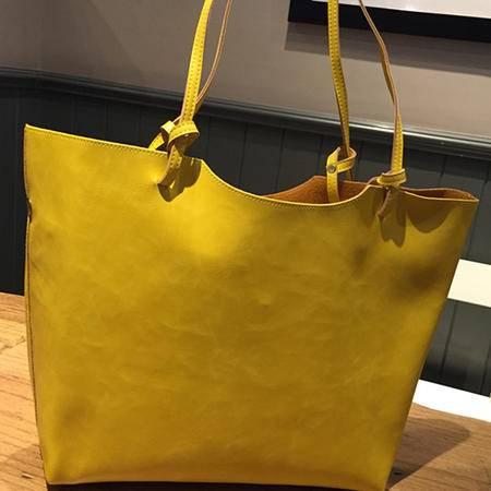 Mssefn2015正品休闲单肩大包新款潮包欧美时尚手提女包包2141