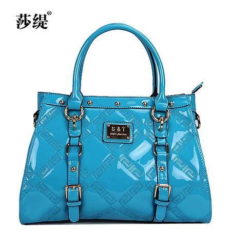 Mssefn2015新款韩版绣色时尚手提包真皮斜挎女包88175