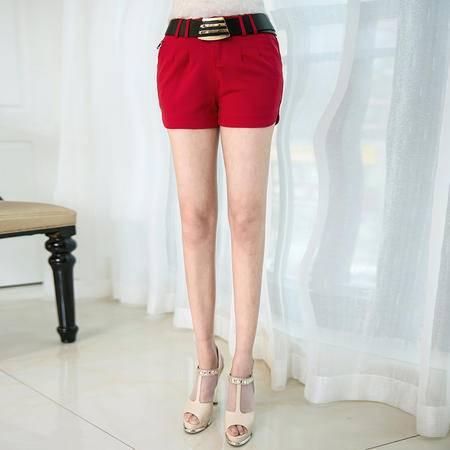 Mssefn2015夏装新款韩版 百搭时尚修身短裤1201