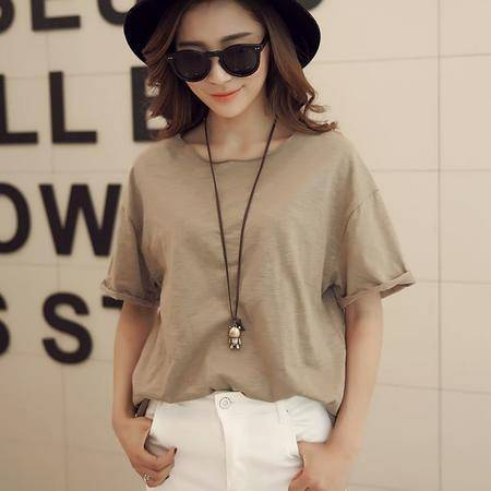 Mssefn2015夏装新款韩版款式短袖T恤女