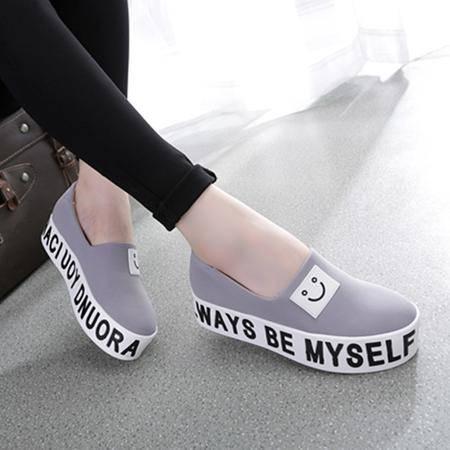 Mssefn2015潮韩流行 厚底帆布女鞋WZ30-W3507