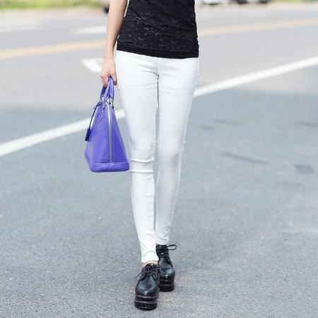 Mssefn2015韩版打底裤女夏季新款休闲长裤大码弹力修身铅笔裤小脚裤G062