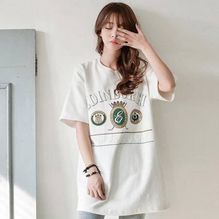 Mssefn2015新款女装高档莫代尔面料短袖8309A-A61