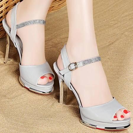 Mssefn2015欧美新品高跟鞋 细跟凉鞋DS12-1043