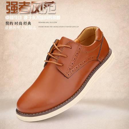 Mssefn2015新款时尚经典布洛克潮流男鞋9918