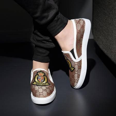 Mssefn2015青春潮流休闲板鞋青年鞋韩版休闲夏布面透气低帮鞋1011-GQ02