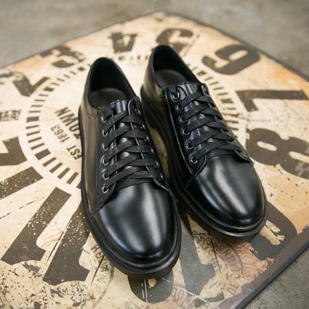 Mssefn2015新款日系 复古低帮鞋 马丁鞋 厚底增高鞋男 潮鞋X777