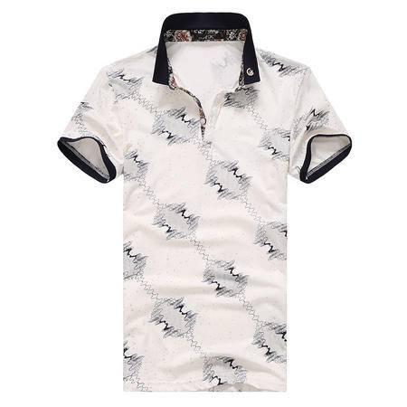 Mssefn2015新款夏季POLO衫 高档丝光棉POLO衫8072