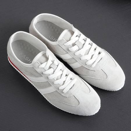 Mssefn2015夏季男士韩版潮流帆布鞋运动低帮系带阿甘男鞋1316-U30
