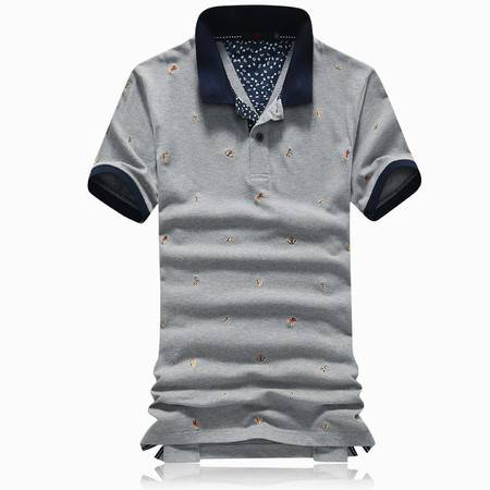 Mssefn2015夏装新款男士休闲刺绣短袖POLO衫858-0914