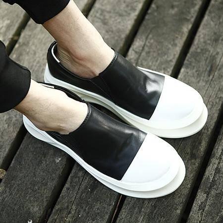 Mssefn2015新品英伦厚底松糕鞋头层牛皮鞋153-2