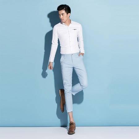 mssefn2015春夏款英伦商务男修身九分裤4色K603-P65