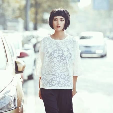 Mssefn2015独家定制 夏季新款镂空短袖T恤M094