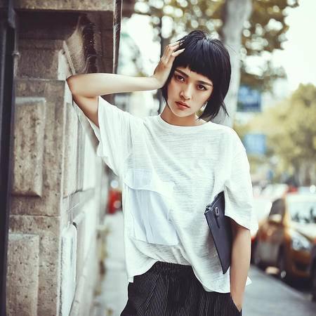 Mssefn2015独家定制 新款大口袋短袖T恤M089
