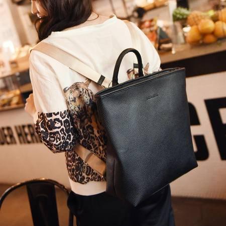 休闲奇芭 2015 韩版女士包包 手提包 双肩背包 多功能nv包 B2007