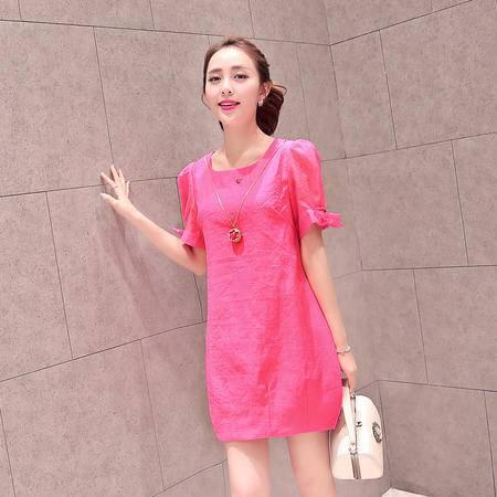 mssefn2015夏装新款韩版连衣裙 B8837P50