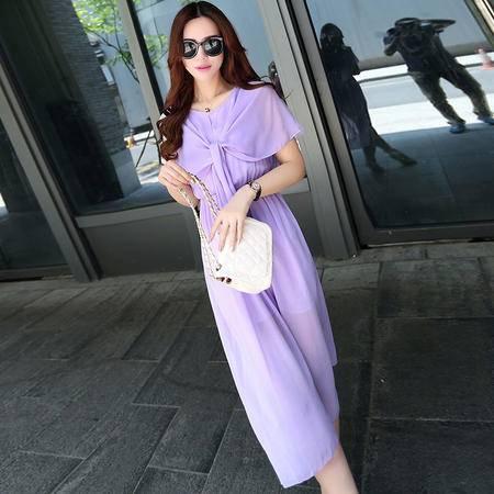 Mssefn2015夏新款韩版女装雪纺连衣裙中长裙超仙海边度假M72