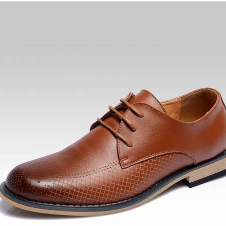 休闲奇芭 2015款男鞋休闲鞋头层牛皮商务男士日常 休闲皮鞋真皮低帮男鞋