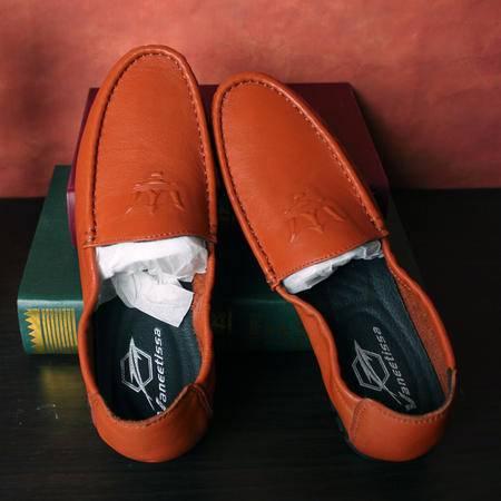 休闲奇芭 2015 低帮休闲皮鞋 手工缝  豆豆鞋 驾车鞋 开车鞋 玛莎拉蒂