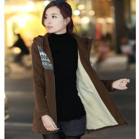 MSSEFN2015秋季新款韩版女装 中长款时尚秋装开衫卫衣FDS992-1P100