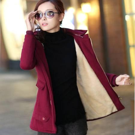 mssefn2015秋季新款韩版女装 中长款开衫卫衣外套FDS990-1P100