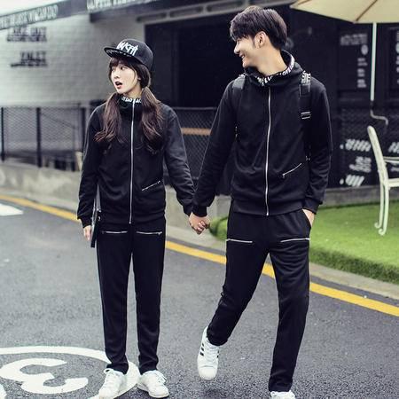 mssefn女装类目 秋冬韩版情侣卫衣套装 标题自拟 大货C215-T003-P110s