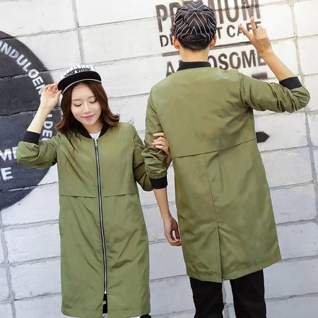 女式秋季韩版中长薄款风衣外套情侣装C213 C8816 P65